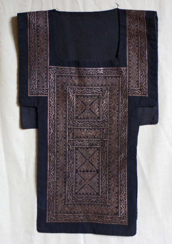 Ethnic Minority Chinese Miao woman's embroidered vest