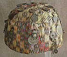 Old Afghanistan Hat with coin ornaments