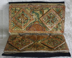 Chinese Dong Ethnic Minority Textile Sewing Wallet