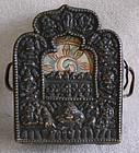 Antique Tibetan Copper Reposse Gau