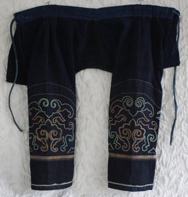 Chinese  Minority crotchless child's embroidered Pants