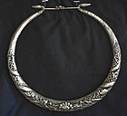 Antique Chinese ethnic Minority Miao dragon necklace