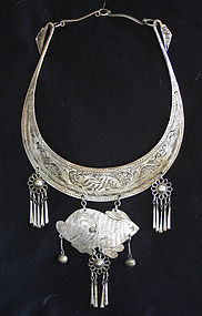Chinese Yao Ethnic Minority necklace