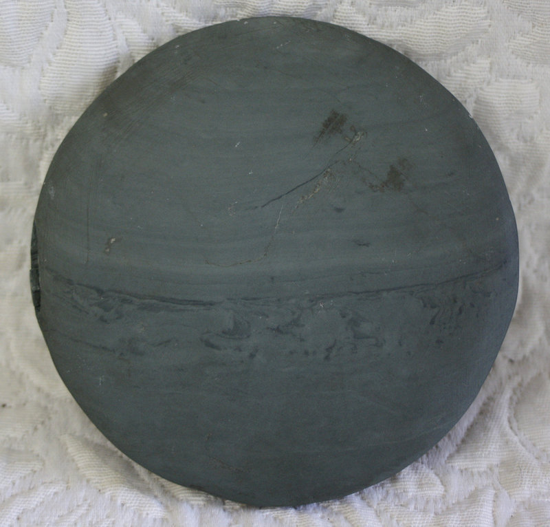 Antique Chinese unusual stone carved inkstone