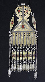 very large Turkomen Pendant for necklace