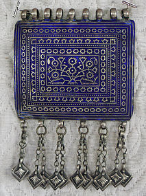 Large Central Asian Tribal Bride groom Pendant...