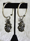 Pair of Chinese Miao Ethnic Minority Antique Earings