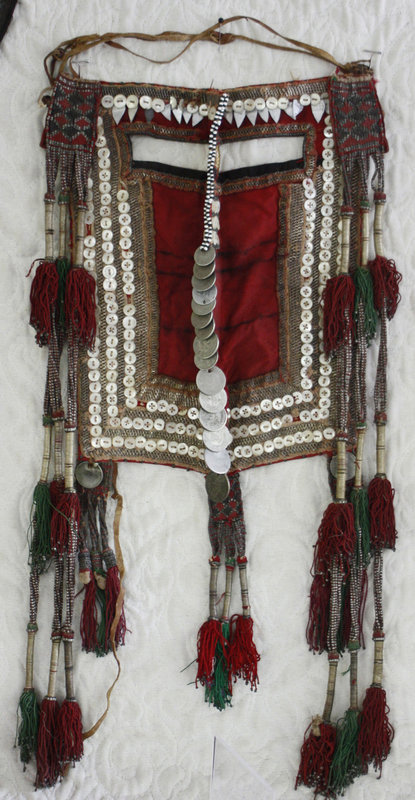 Tribal Woman's face cover from Saudi Arabia