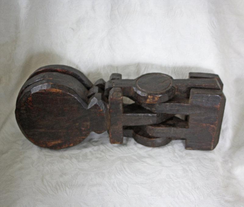 Antique wooden Quran reader book stand