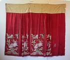 Antique Chinese Qing Dynasty silk embroidered skirt