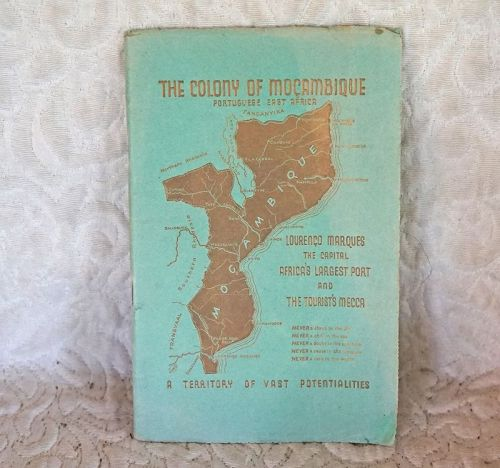 Old Tourist Travel Booklet of Mozambique