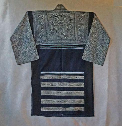 Chinese Miao Ethnic Minority Woman's long Jacket