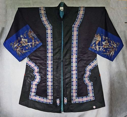 Antique Chinese Traditional Han Woman's Surcoat