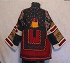 Antique Chinese Miao Minority Woman's embroidered Festival jacket