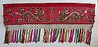 Qing Dynasty Chinese Mongolian Dragon Textile