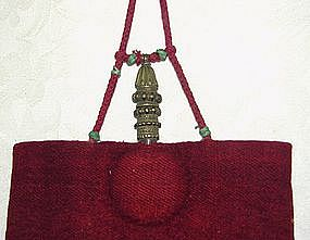 Tibetan Buddhist Monks Qia-Bu-lu Medicine Bottle Bag