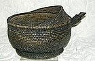 Antique Chinese Minority Wine Tea Pourer woven basket