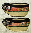 Chinese   Manchurian  Womans Shoes Platform Soles