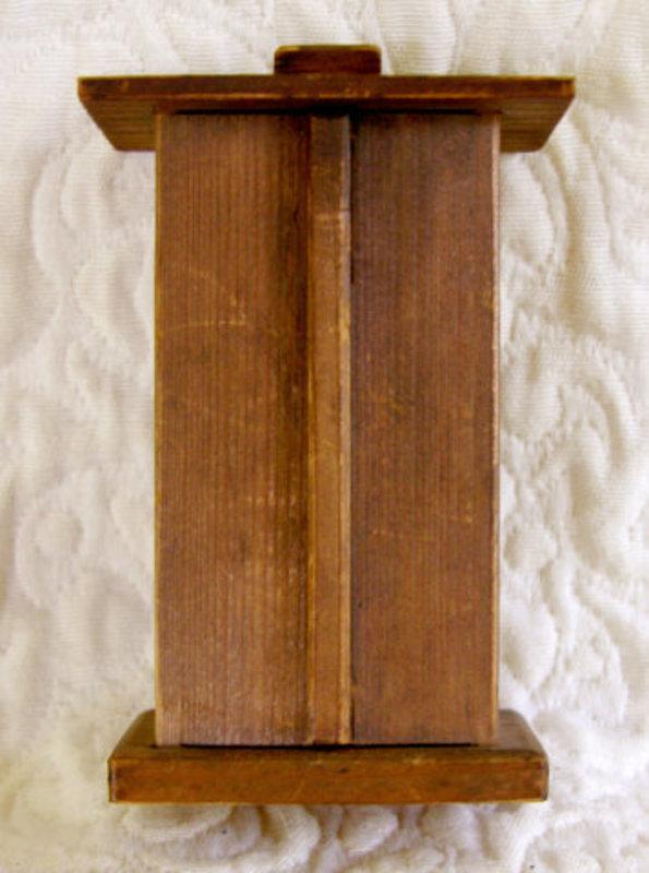 Small Japanese Cedar Shrine Box