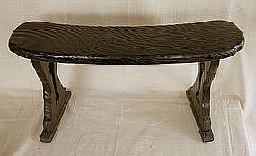 Japanese Kyosoku Meiji Period Arm Rest