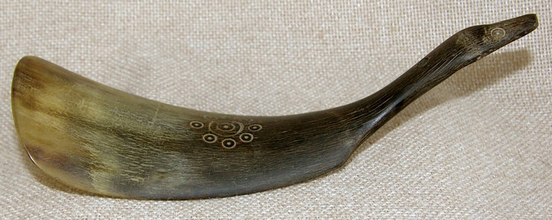 Qing Antique Chinese carved shoe horn