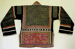 Chinese Ethnic Minority Miao girl's Festival Jacket