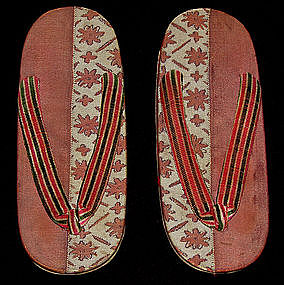 Pair of Japanese Young Woman Geta shoes