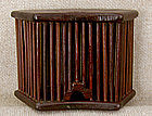 Antique Chinese Rosewood Cricket Cage Case