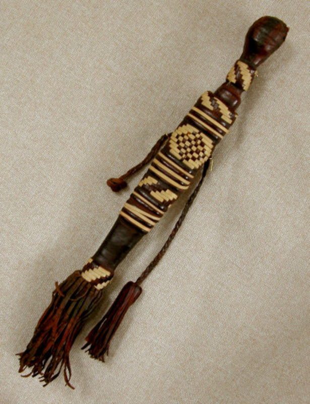 West African Sudan Manding Dagger with Scabbard
