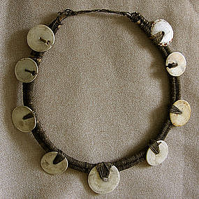 Indonesian Shell Necklace Irian Jaya Papua New Guinea