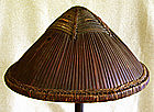 Antique Chinese Military Foot Soldier's Hat Helmet