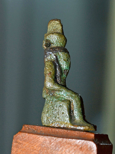 AN ANCIENT EGYPTIAN NEFERTUM AMULET