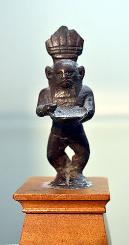 AN ANCIENT EGYPTIAN BRONZE BES