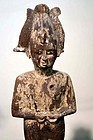 AN ANCIENT EGYPTIAN WOOD OSIRIS