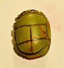 AN ANCIENT EGYPTIAN JASPER SCARAB