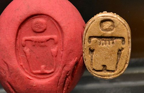 AN EGYPTIAN NEW KINGDOM SCARAB