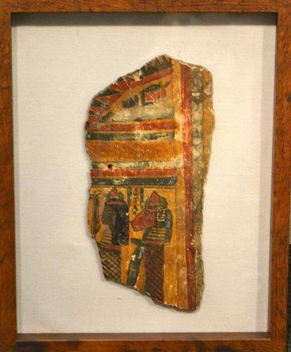 AN ANCIENT EGYPTIAN CARTONNAGE