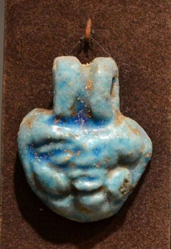 AN ANCIENT EGYPTIAN BES AMULET