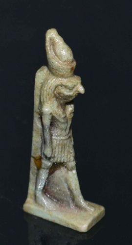 AN ANCIENT EGYPTIAN AMULET OF HORUS