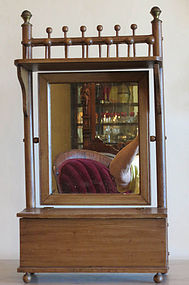 Victorian Stick and Ball Wall Shelf