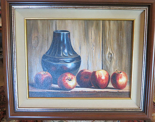 """Sue Krzyston Oil on Canvas - """"Bevy of Beauties"""""""