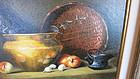 """Sue Krzyston Oil on Canvas - """"Brass Reflections"""""""