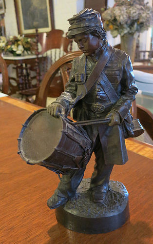 """Little Major"" Bronze by J. N. Muir"