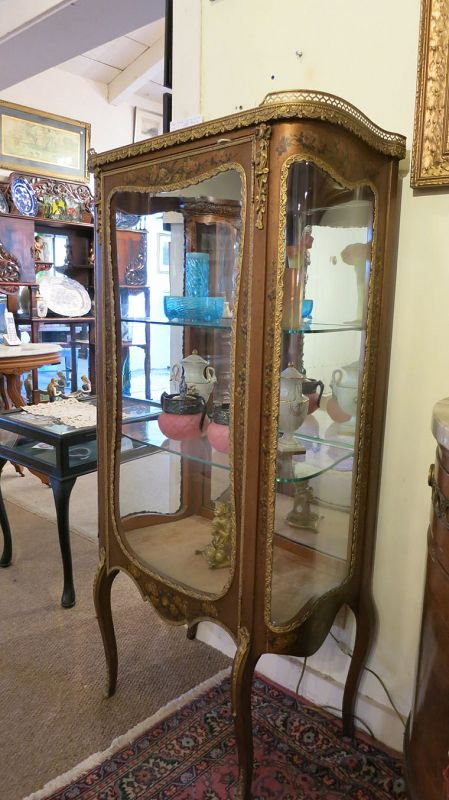 Hand Painted Curio Cabinet