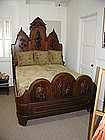 Beautiful Carved Rosewood Bed