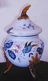 Victorian Glass Covered Tureen