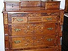 American Victorian Walnut Chest