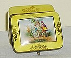Vintage Porcelain Hinged Box