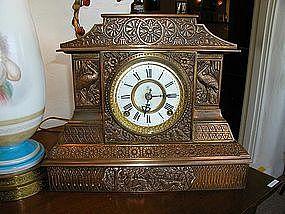 American Aesthetic Clock by F. Kroeber