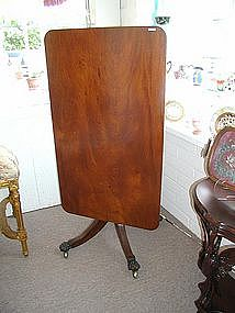 Mahogany Tilt Top Breakfast Table